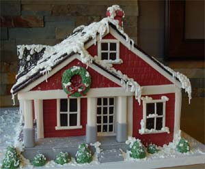 Free Patterns for Gingerbread Houses