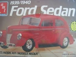 Vintage Plastic Car Model Kits
